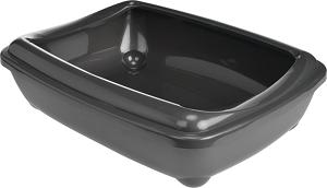 AniOne Aris-o-Tray macska WC sötétszürke S 38x50cm