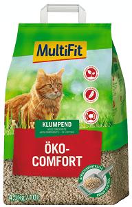 MultiFit Öko Comfort csomósodó macskaalom 10l
