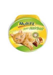 MultiFit anti-hairball macska jutalomfalat 7x60g