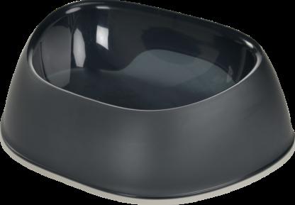 AniOne kutya műanyag tál Blacky fekete 350ml