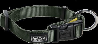 AniOne Classic kutya nyakörv zöld L