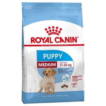 Royal Canin Size Health Nutrition Medium puppy száraz kutyaeledel 15kg