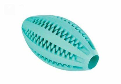Trixie kutyajáték mentás Rugbylabda gumi 11,5cm