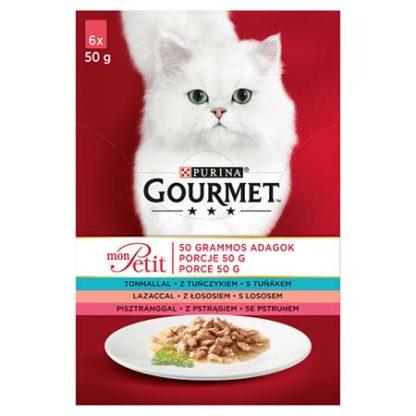 Gourmet Mon Petit macska tasak MP halas 6x50g