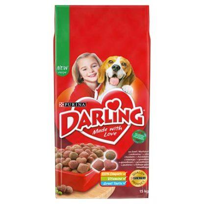 Darling kutya szárazeledel hús&zöldség 15kg