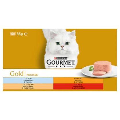 Gourmet Gold macska konzerv MP pástétom 4x85g
