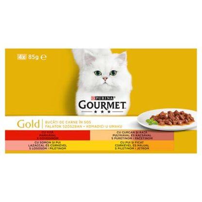 Gourmet Gold macska konzerv MP szósz 4x85g