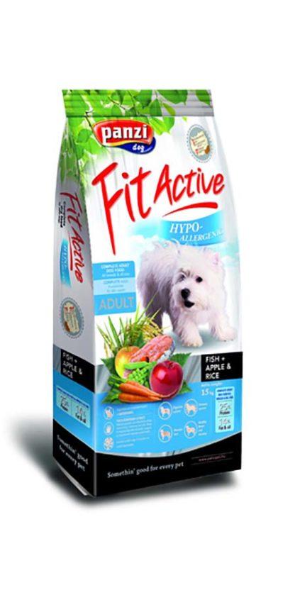 FitActive Hypoallergenic kutya szárazeledel hal&alma&rizs 15kg