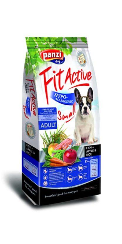 FitActive Hypoallergenic kutya szárazeledel small hal&alma&rizs 15kg