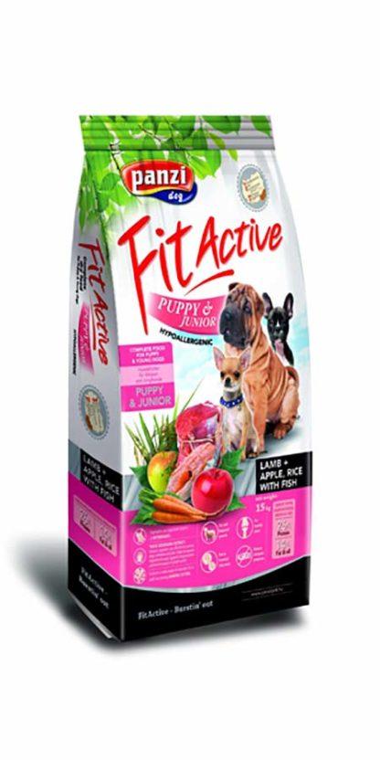 FitActive Hypoallergenic kutya szárazeledel puppy bárány 15kg