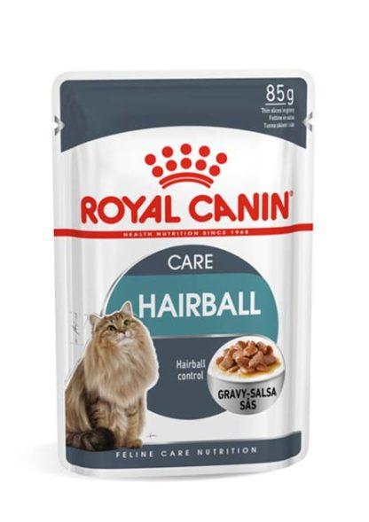 Royal Canin Feline Care Nutrition Hairball Care macska tasak 12x85g