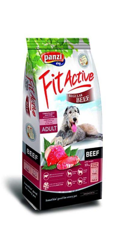 FitActive Regular kutya szárazeledel marha 15kg
