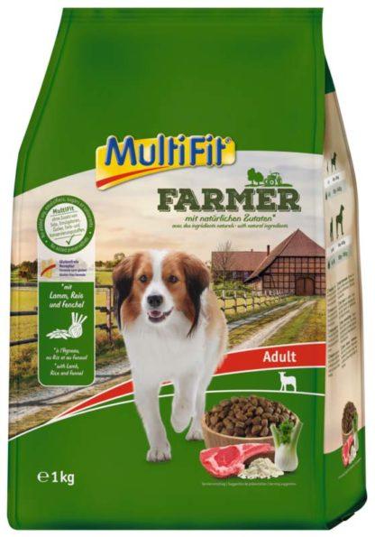 MultiFit Farmer száraz kutyaeledel adult bárány&rizs 1kg