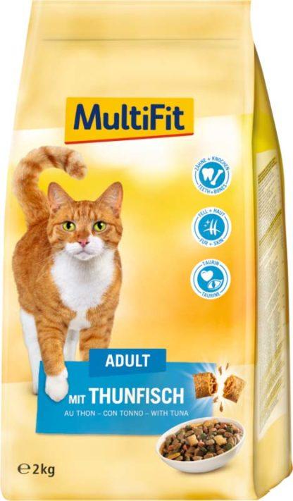 MultiFit macska szárazeledel adult tonhal 2kg