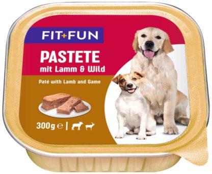 FIT+FUN kutya tálka adult bárány&marha 9x300g