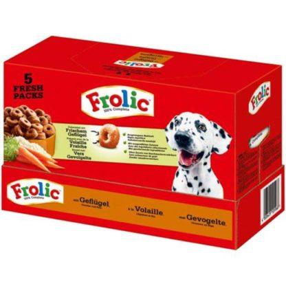 FROLIC kutya szárazeledel csirke&rizs 7,5kg