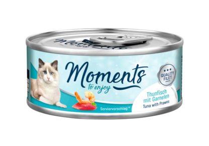 Moments macska konzerv tonhal&garnélarák 70g