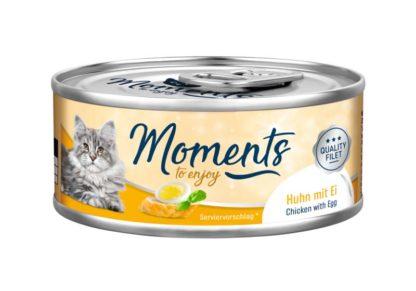 Moments macska konzerv csirke&tojás 70g