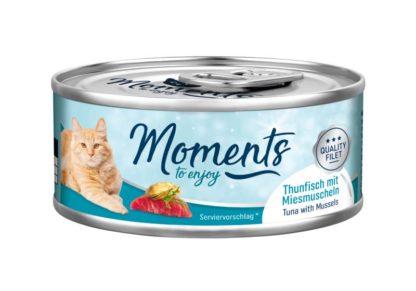 Moments macska konzerv tonhal&kék kagyló 70g