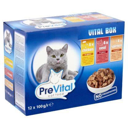 PreVital macska tasak MP vitalpack 12x100g