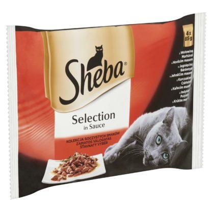 SHEBA macska tasak MP cuisine húsos 4x85g