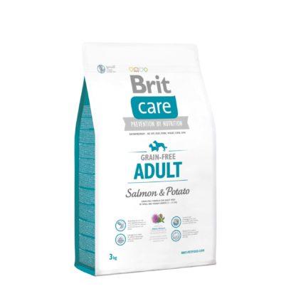 Brit Care kutya szárazeledel Small&Medium breed adult lazac&burgonya 3kg