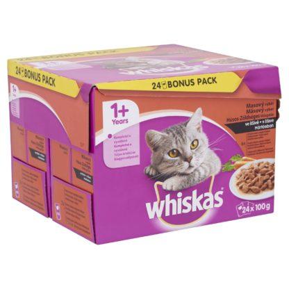 Whiskas macska tasak MP hús&zöldség 24x100g