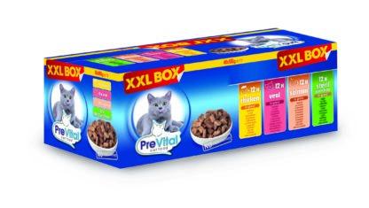 PreVital macska tasak gigabox 48x100g