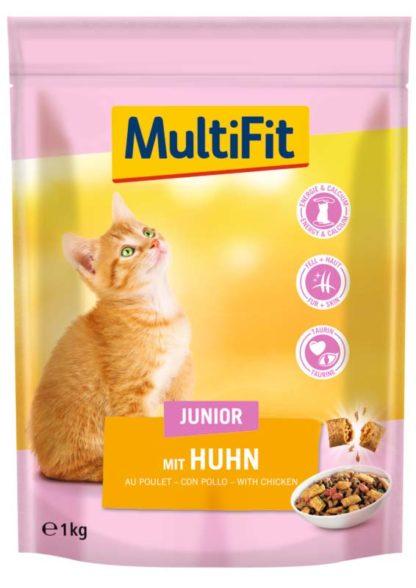 MultiFit macska szárazeledel junior csirke 1kg