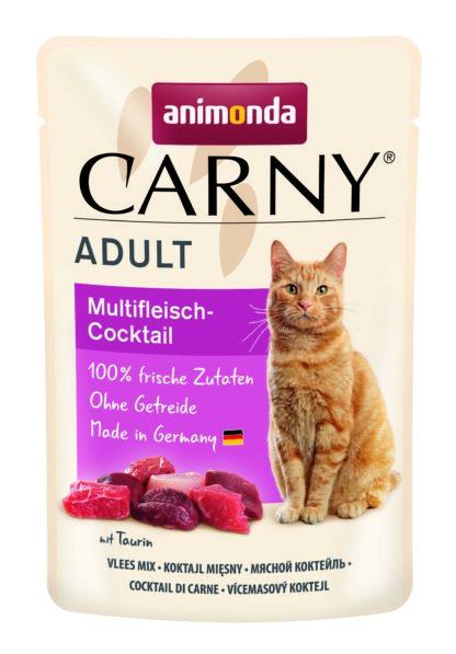 Animonda Carny macska tasak adult multihús koktél 85g