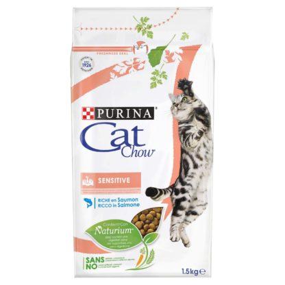 Cat Chow macska szárazeledel adult sensitive 1,5kg