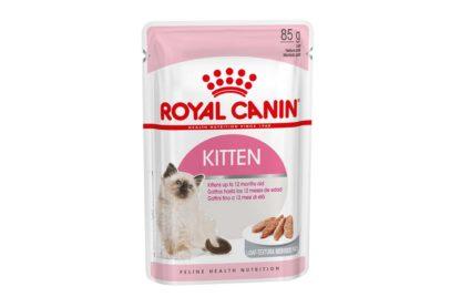 Royal Canin Feline Health Nutrition macska tasak Kitten loaf 12x85g