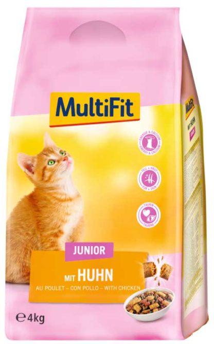 MultiFit macska szárazeledel kitten csirke 4kg
