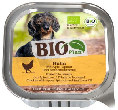 BioPlan kutya tálka adult csirke&alma 150g
