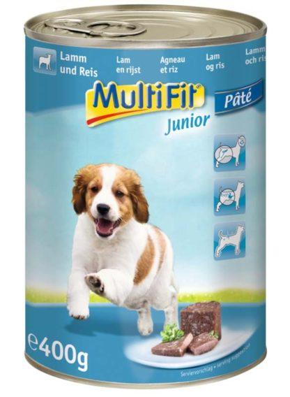 MultiFit kutya konzerv junior bárány&rizs 12x400g