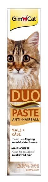 GimCat Duo macska paszta anti-hairball sajt&maláta 50g