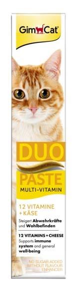 GimCat Duo macska paszta multivitamin sajt 50g