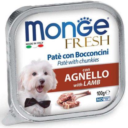 Monge Fresh kutya tálka adult bárány 100g