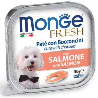 Monge Fresh kutya tálka adult lazac 100g