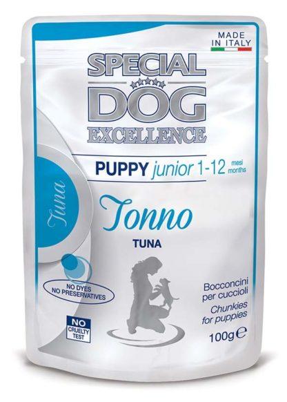 Special Dog Excellence kutya tasak junior tonhal 100g