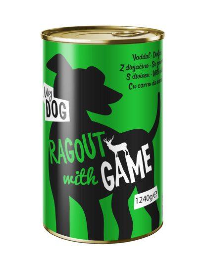 MyDog kutya konzerv adult vad 12x1240g