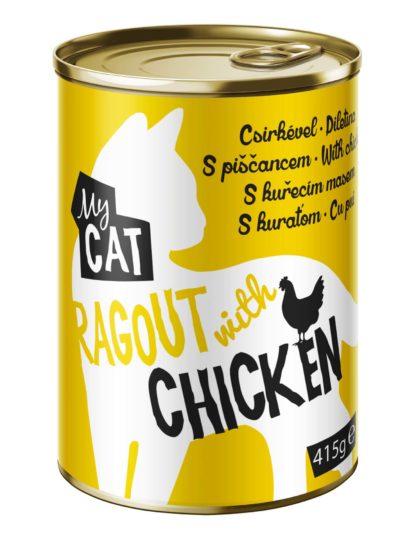 MyCat macska konzerv adult csirke 20x415g