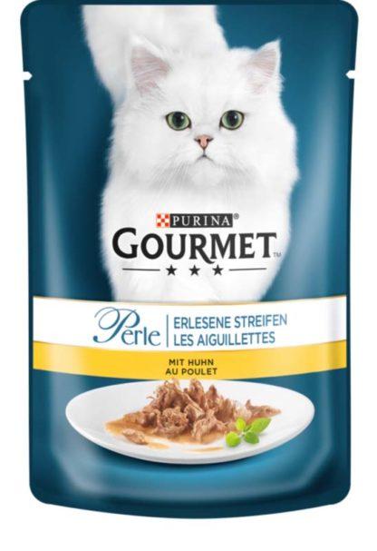 Gourmet Perle macska tasak csirke szósz 24x85g