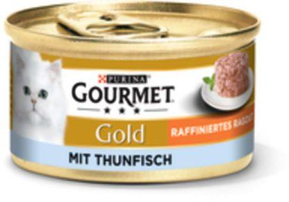 Gourmet Gold macska konzerv tonhal ragu 12x85g