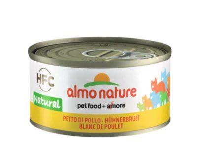 Almo Nature macska konzerv csirke 24x70g
