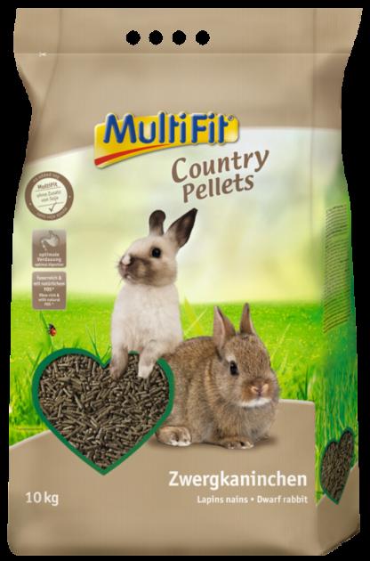 MultiFit Country Pellet törpenyúl eledel 10kg