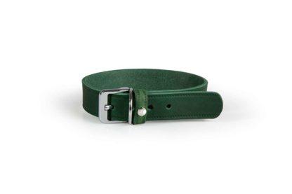 Das Lederband kutyanyakörv Weinheim zöld 32-39cm