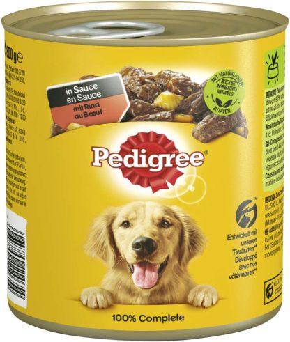 Pedigree kutyakonzerv adult marha&zöldség 12x800g