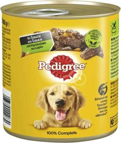Pedigree kutyakonzerv adult nyúl&sárgarépa 12x800g
