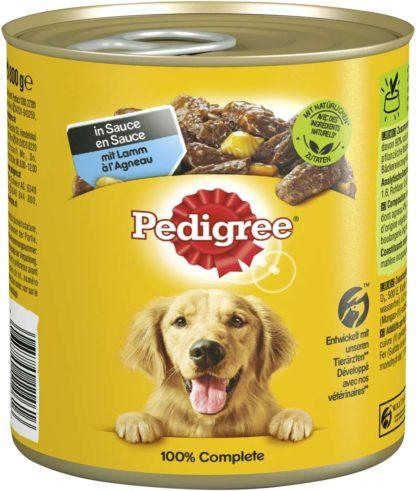 Pedigree kutyakonzerv adult bárány&zöldség 12x800g
